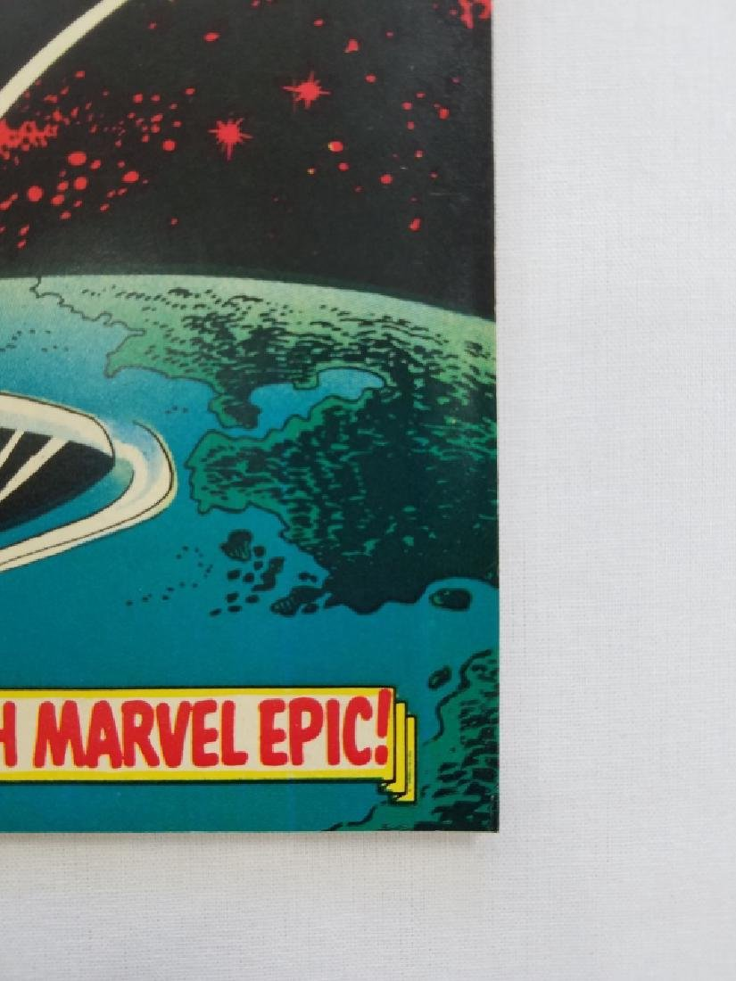 MARVEL The Silver Surfer #1 Comic Book - 2