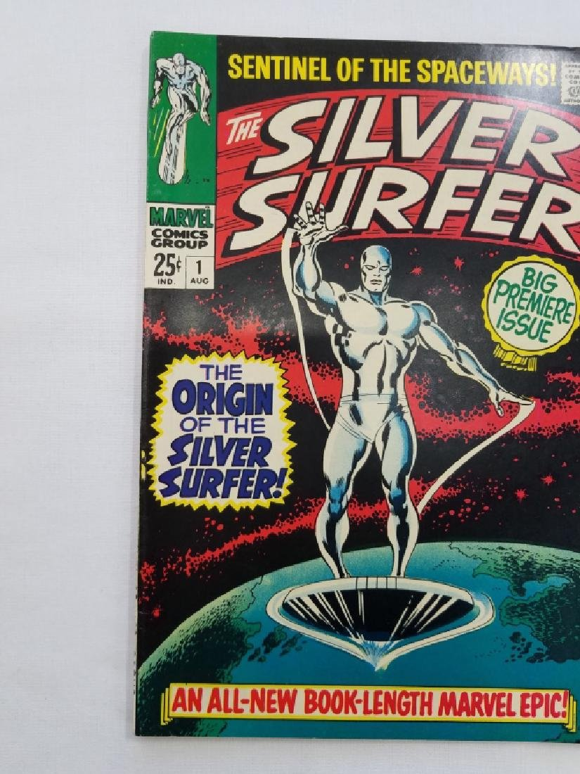 MARVEL The Silver Surfer #1 Comic Book - 4