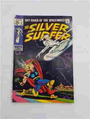 MARVEL The Silver Surfer #4 Comic Book