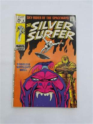MARVEL The Silver Surfer #6 Comic Book