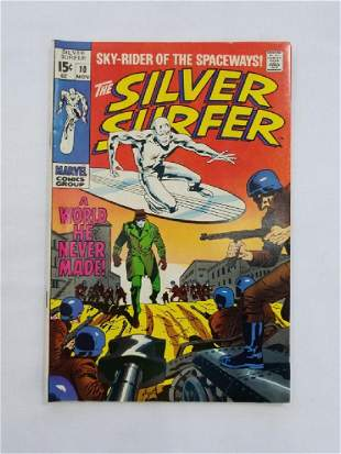 MARVEL The Silver Surfer #10 Comic Book