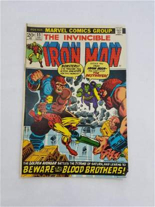 MARVEL The Invincible IRON MAN #55 Comic Book