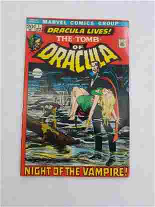 MARVEL The Tomb of DRACULA #1 Comic Book