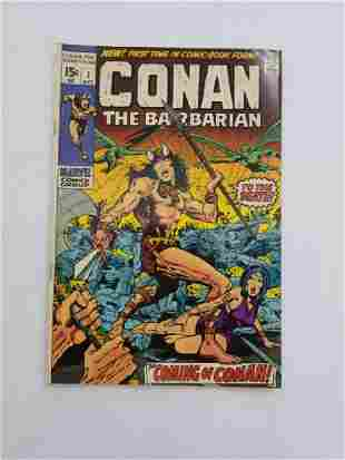 MARVEL CONAN the Barbarian #1 Comic Book