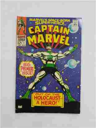 MARVEL CAPTAIN MARVEL #1 Comic Book