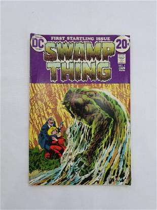 DC SWAMP THING #1 Comic Book