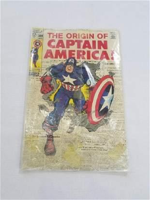 MARVEL The Origin of CAPTAIN AMERICA 109 Comic