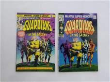 MARVEL GUARDIANS of the Galaxy #18, #29 Comics