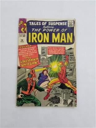 MARVEL Tales of Suspense IRON MAN #56 Comic Book