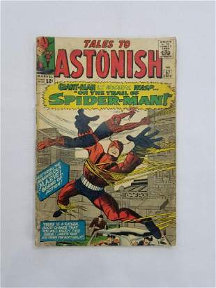 MARVEL Tales to Astonish SPIDER-MAN #57 Comic