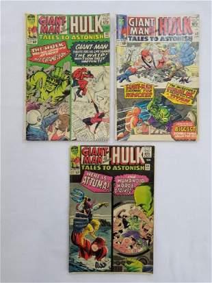 MARVEL Tales To Astonish GIANT-MAN & HULK LOT of 3