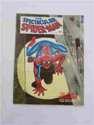 THE SPECTACULAR SPIDERMAN LOT of 3