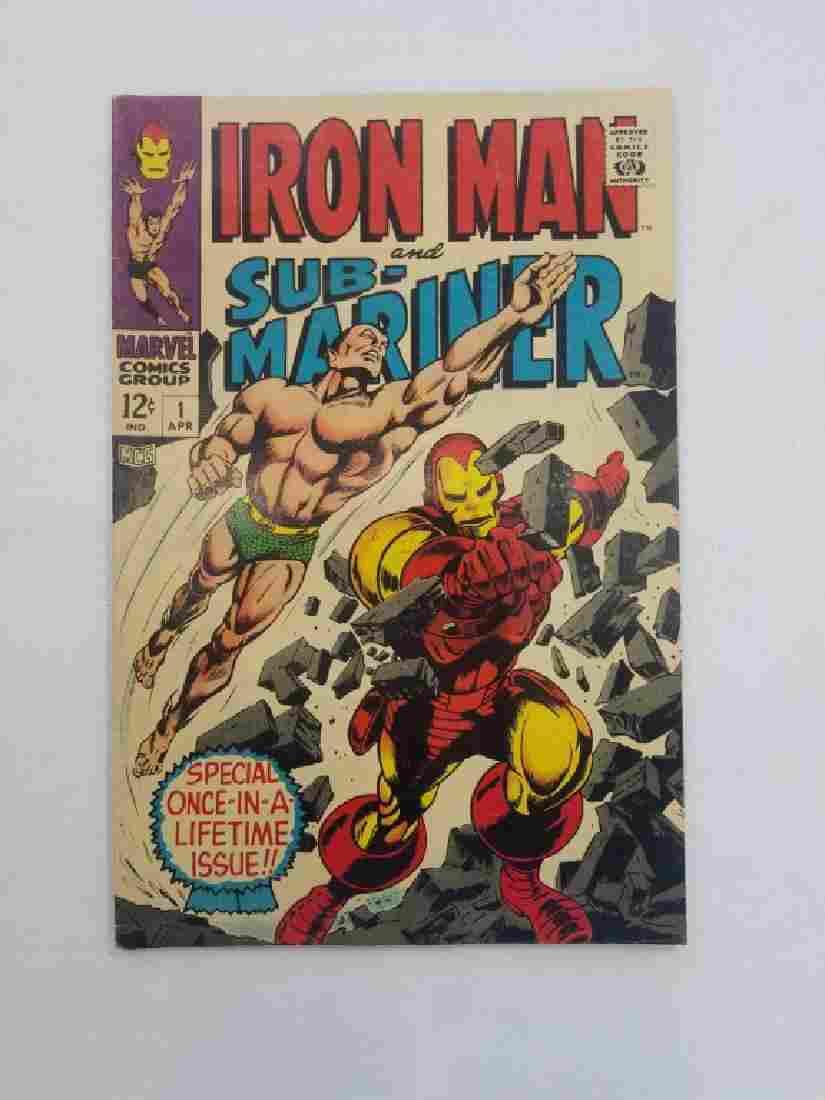 MARVEL IRON MAN & SUB-MARINER #1 Comic Book