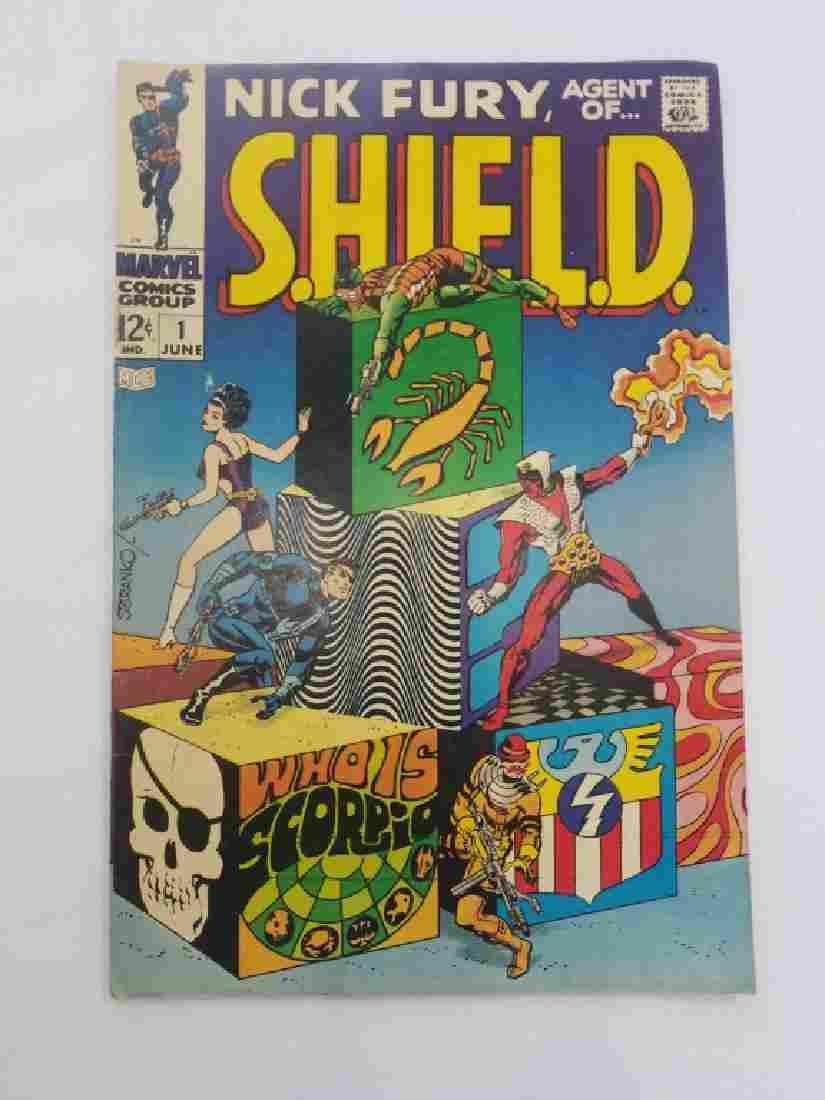 MARVEL NICK FURY Agent of SHIELD #1 Comic Book