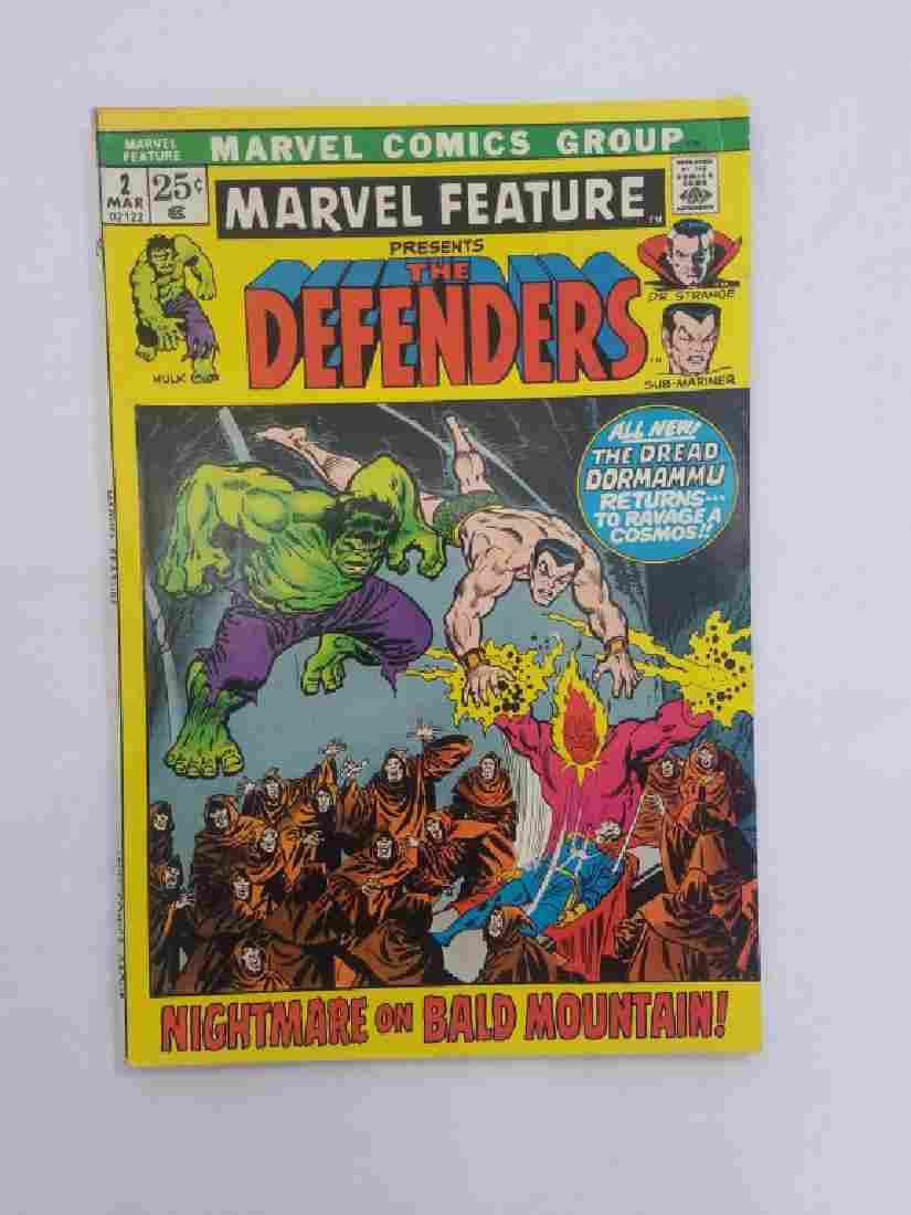 MARVEL FEATURE The DEFENDERS #2 Comic Book