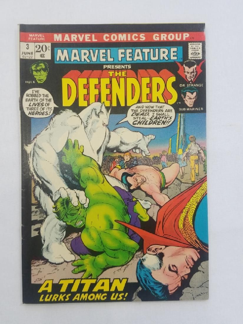MARVEL FEATURE The DEFENDERS #3 Comic Book