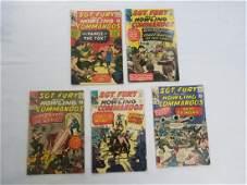 MARVEL LOT OF 5 SGT FURY 678910 Comics