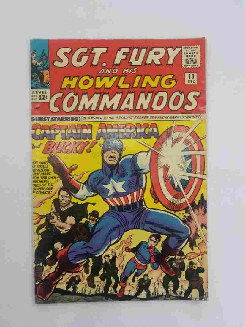 MARVEL SGT. FURY & Howling Commandos #13