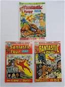 MARVEL  FANTASTIC FOUR 117 118 119 Comics
