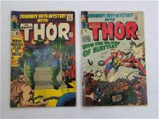 MARVEL THOR #117 #122 Comic Books