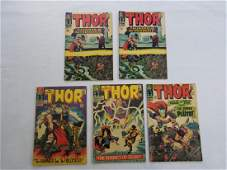 MARVEL THOR 127 128 129 130 x2 Comic Books