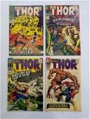 MARVEL THOR 132 135 136 139 Comic Books
