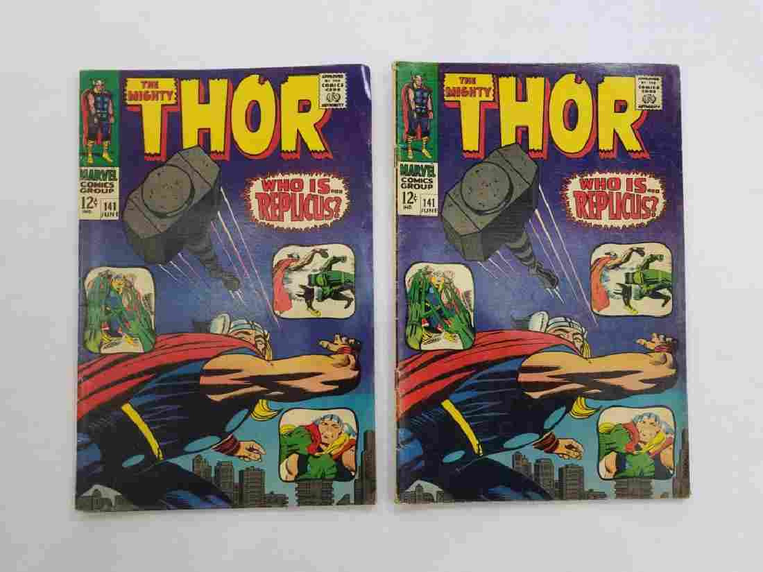 MARVEL The Mighty THOR #141 x2 Comic Books
