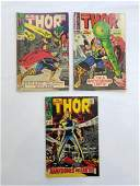 MARVEL The Mighty THOR #143 #144 #145 Comics