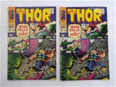 MARVEL The Mighty THOR #149 x2 Comic Books