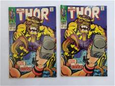 MARVEL The Mighty THOR #155 x2 Comic Books