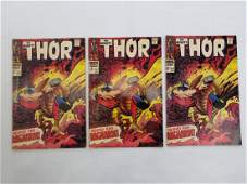 MARVEL The Mighty THOR 157 x3 Comic Books