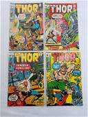 MARVEL THOR #181 #182 #183 #184 Comics
