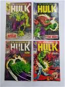 MARVEL HULK 105 106 107 108 Comic Books