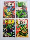 MARVEL HULK #110 #111 #112 #113 Comic Books