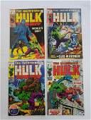 MARVEL HULK #117 #118 #121 #122 Comic Books