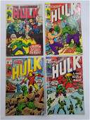 MARVEL HULK #128 #130 #131 #132 Comic Books