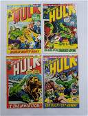 MARVEL HULK #147 #148 #149 #150 Comic Books