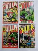 MARVEL HULK #155 #156 #157 #158 Comic Books