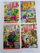 MARVEL HULK #159 #160 #161 #162 Comic Books