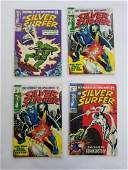 MARVEL SILVER SURFER #2 #5 x2 #7 Comic Books