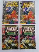 MARVEL SILVER SURFER #8 x2 #9 x2 Comic Books