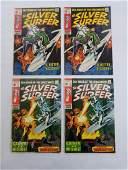 MARVEL SILVER SURFER #11 x2 #12 x2 Comic Books
