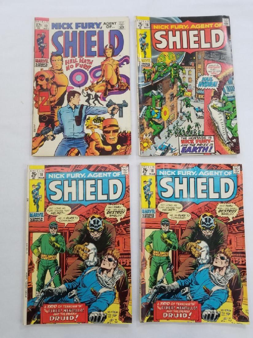 MARVEL SHIELD NICK FURY #12 #16 #18 x2 Comics