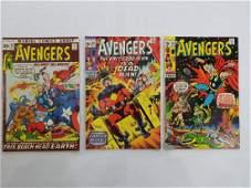 MARVEL AVENGERS #84 #89 #93 Comic Books