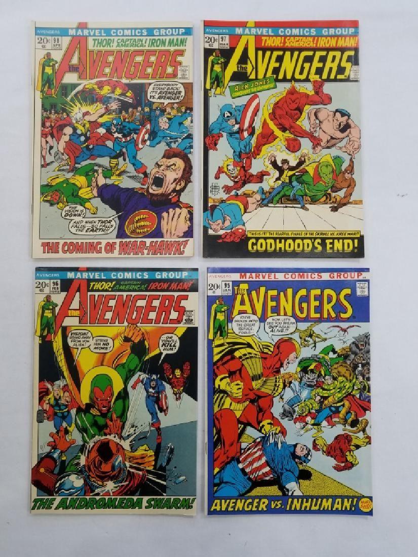 MARVEL AVENGERS #95 #96 #97 #98 Comic Books