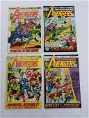 MARVEL AVENGERS #99 #100 #101 #102 Comics