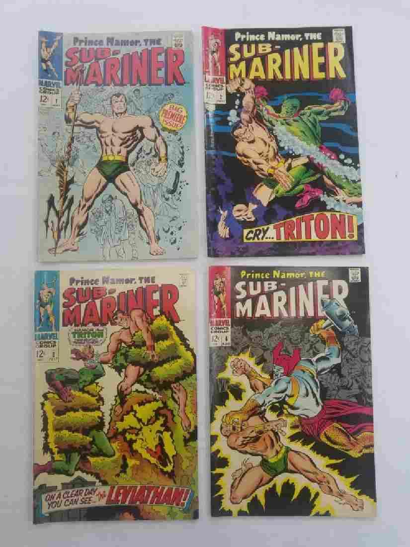 MARVEL SUB-MARINER #1 #2 #3 #4 Comic Books