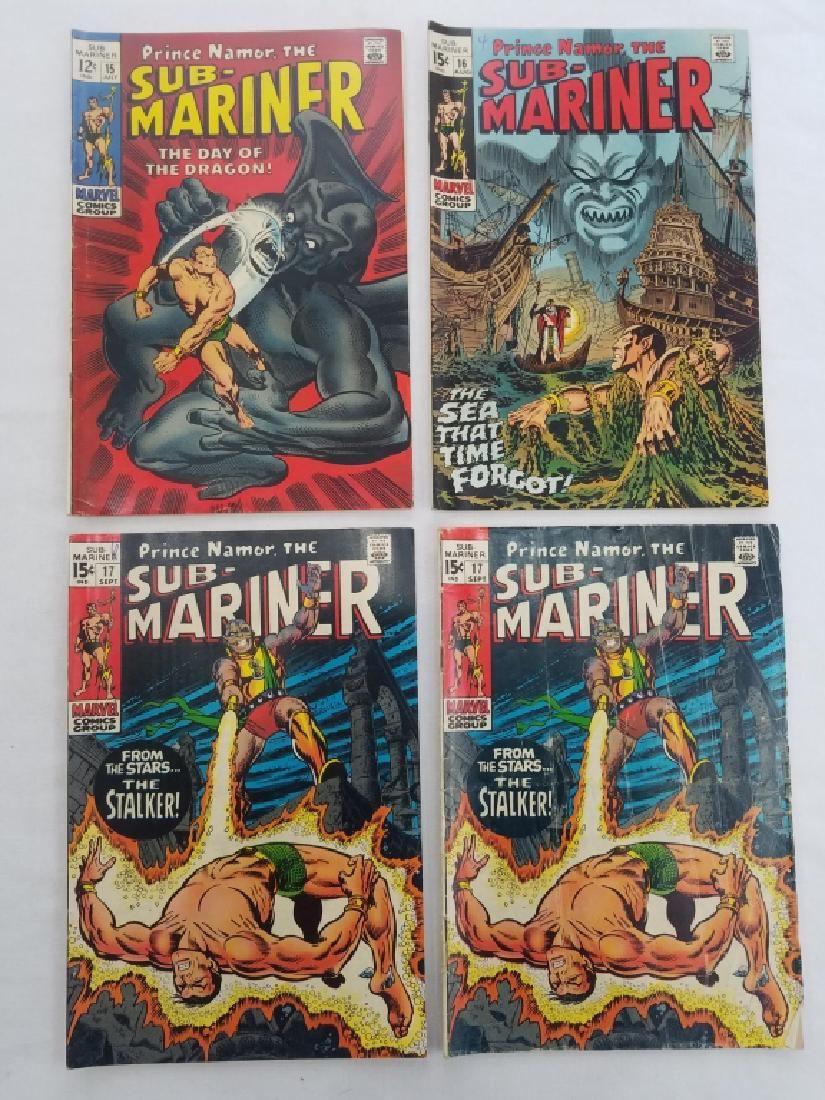 MARVEL SUB-MARINER #15 #16 #17 x2 Comic Books