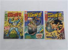 MARVEL SUBMARINER 23 24 28 Comic Books