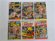 MARVEL SUB-MARINER #41 #42 #43 x2 #44 #45 Comics